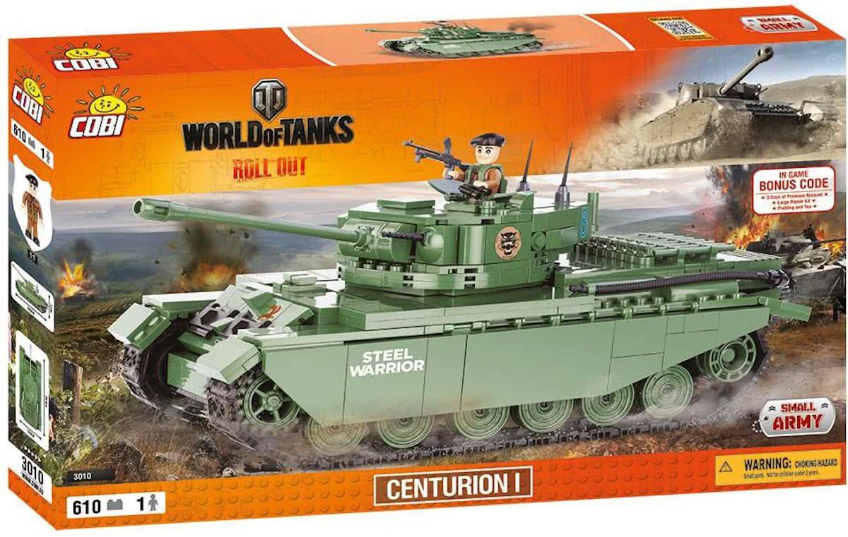 Конструктор Cobi World Of Tanks. Центурион (COBI-3010) (5902251030100)