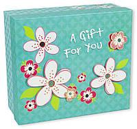 Квадратные подарочные коробки CF-011-4 ( 25x22x10cm  )