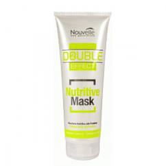 Оживляющая маска для волос Новель с кератином и хмелем Nouvelle Nutritive Mask