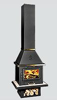 Печь-камин (буржуйка)  на дровах Уют Люкс