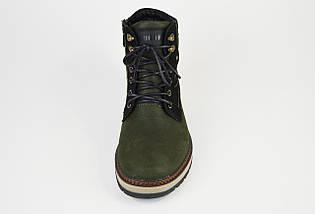 Ботинки зимние нубук Konors 109207 хаки, фото 3