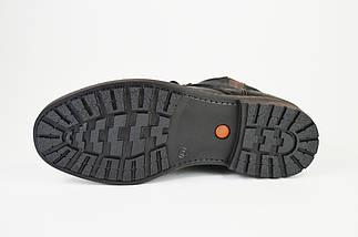 Ботинки высокие нубук Fabio 020 графит, фото 3