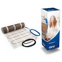 Тепла підлога, нагрівальний мат DEVIheat 150S 7.0 кв. м 1050W (140F0339)