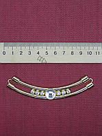 Планка для одежды металлическая