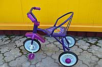 Трехколесный велосипед фиолетовый, фото 1