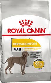 Сухой корм для крупных собак, склонных к кожным раздражениям и зуду Royal Canin Maxi Dermacomfort 10 кг