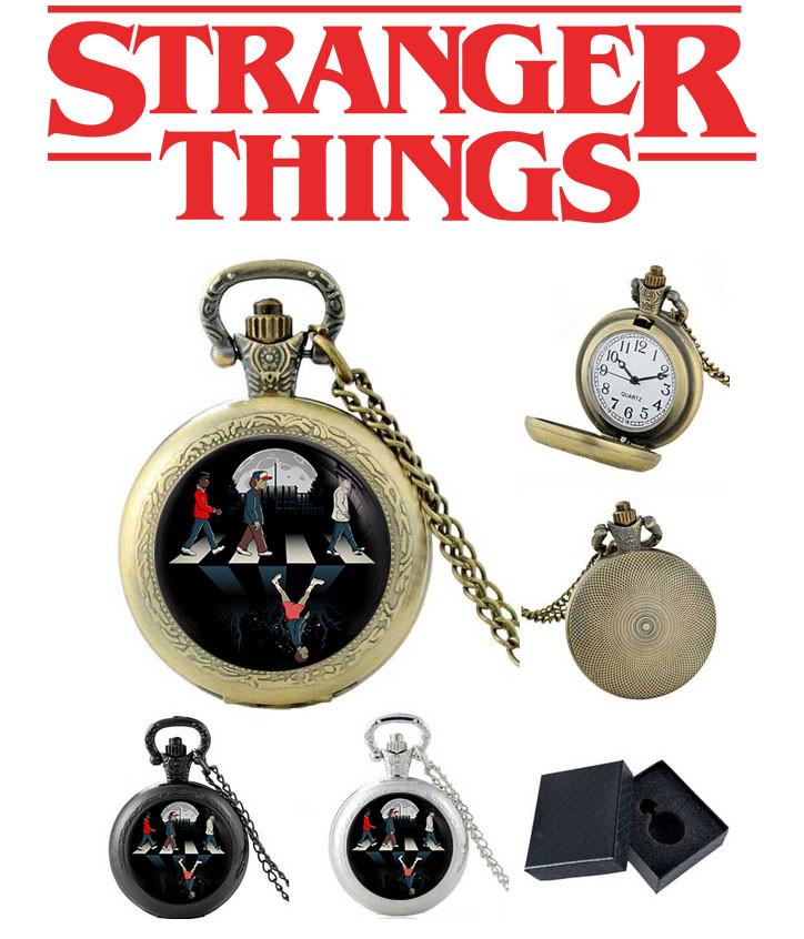Карманные часы the beatles Очень странные дела / Stranger Things