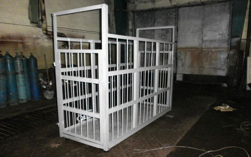 Весы для взвешивания животных ЗЕВС до 1000 кг, ШхДхВ: 1000х2000х1500мм