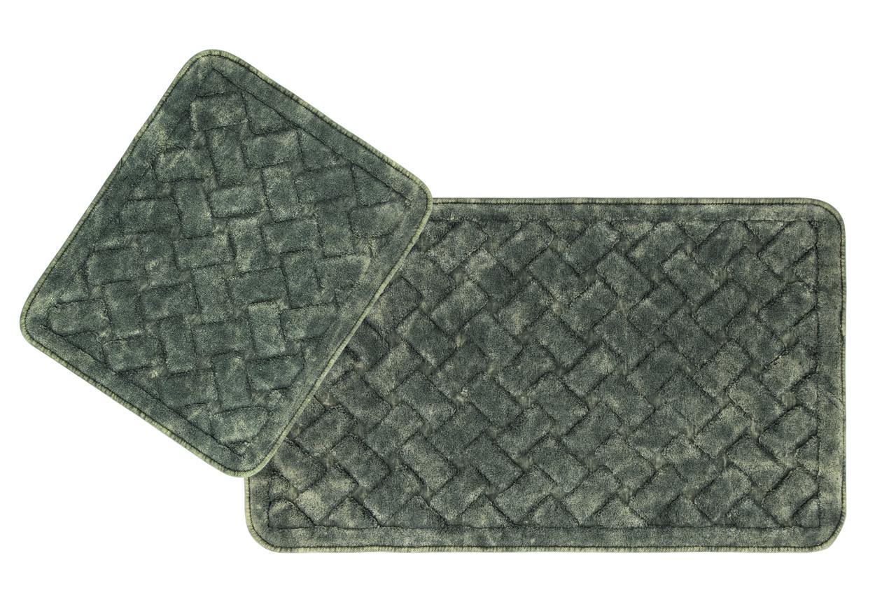 Набор ковриков в ванную комнату Arya 60х100 и 60х50 - 2пр. Hasir (TR1006872)