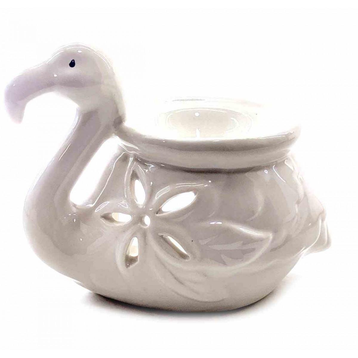Аромалампа керамическая Фламинго