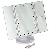 Зеркало для макияжа Superstar Magnifying Mirror с led-подсветкой M-003
