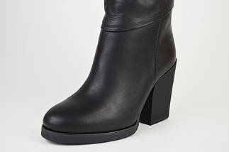 Сапоги кожаные на каблуке Kluchini 13106, фото 3