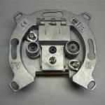 Механизм розетки ТВ проходной 8-10 дб Lumina-2