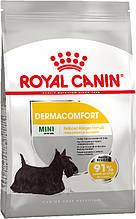 Сухой корм для собак малых пород, склонных к кожным раздражениям и зуду Royal Canin Mini Dermacomfort 3 кг