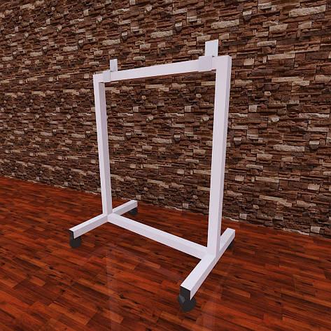 Подставка - ножки для керамических панелей с колесами, фото 2