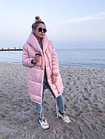 Женская зимняя куртка зефирка силикон 300