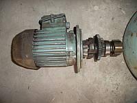 Електродвигатель с редуктором от електрозажима, фото 1