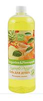 Гель для душа Bioton Cosmetics «Tangerine & Pineapple» Мандарин, ананас 1000 мл