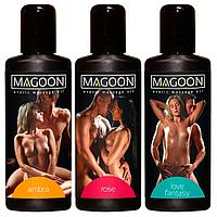 Набор массажных масел для эротического массажа Orion Magoon Erotic Massage Oil 3*100 мл