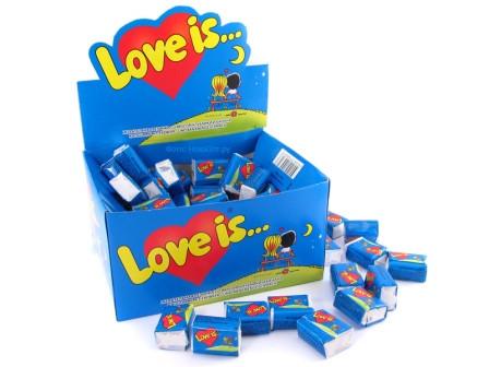 "Жевательная резинка ""Love is..."""