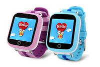 Наручные часы Smart часы детские с GPS Q100N (Q90) Сенсорный Экран