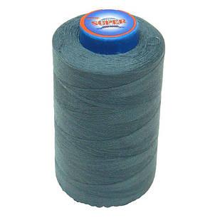 Нитки швейные Super 40/2 бобина 3657м Синие с серым (S40/2-140)