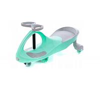 Детская машинка толокар KIDIGO Smart Car, серо-бирюзовый