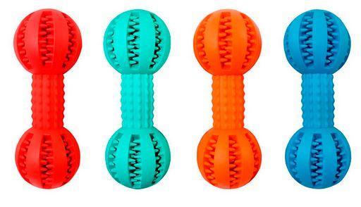 Игрушка резиновая массажная Гантель 5 * 13,5 см ER140 ZooMax