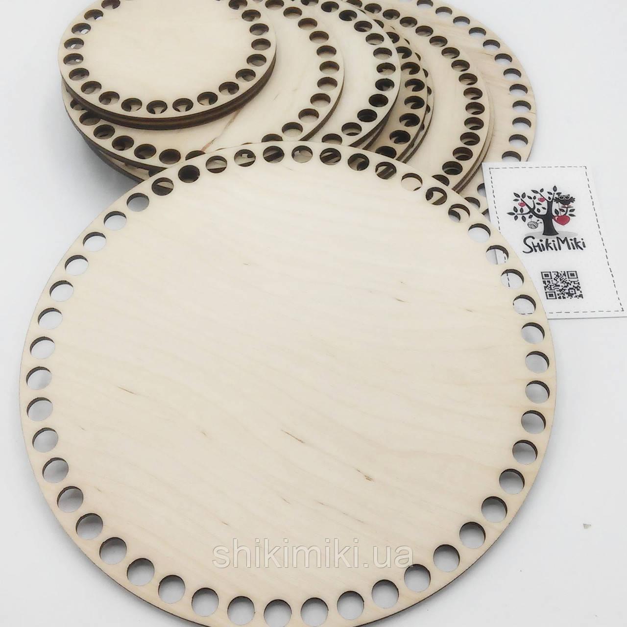 Заготовка из фанеры круглая (20 см)