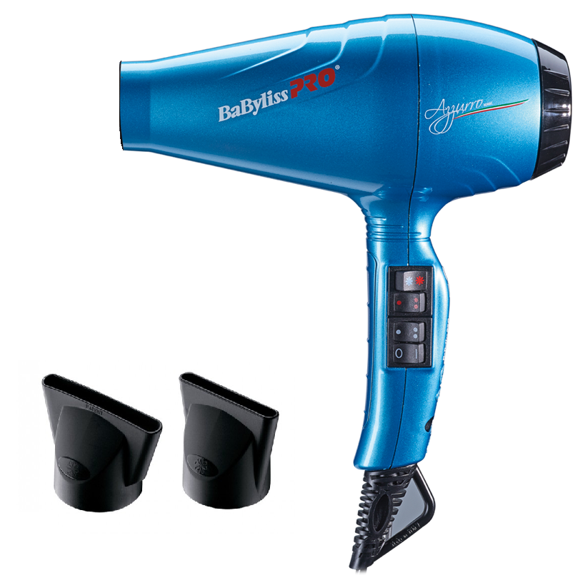 Фен для волос Babyliss BAB6350IBLE Azzurro Ionic профессиональный, 2100 Вт