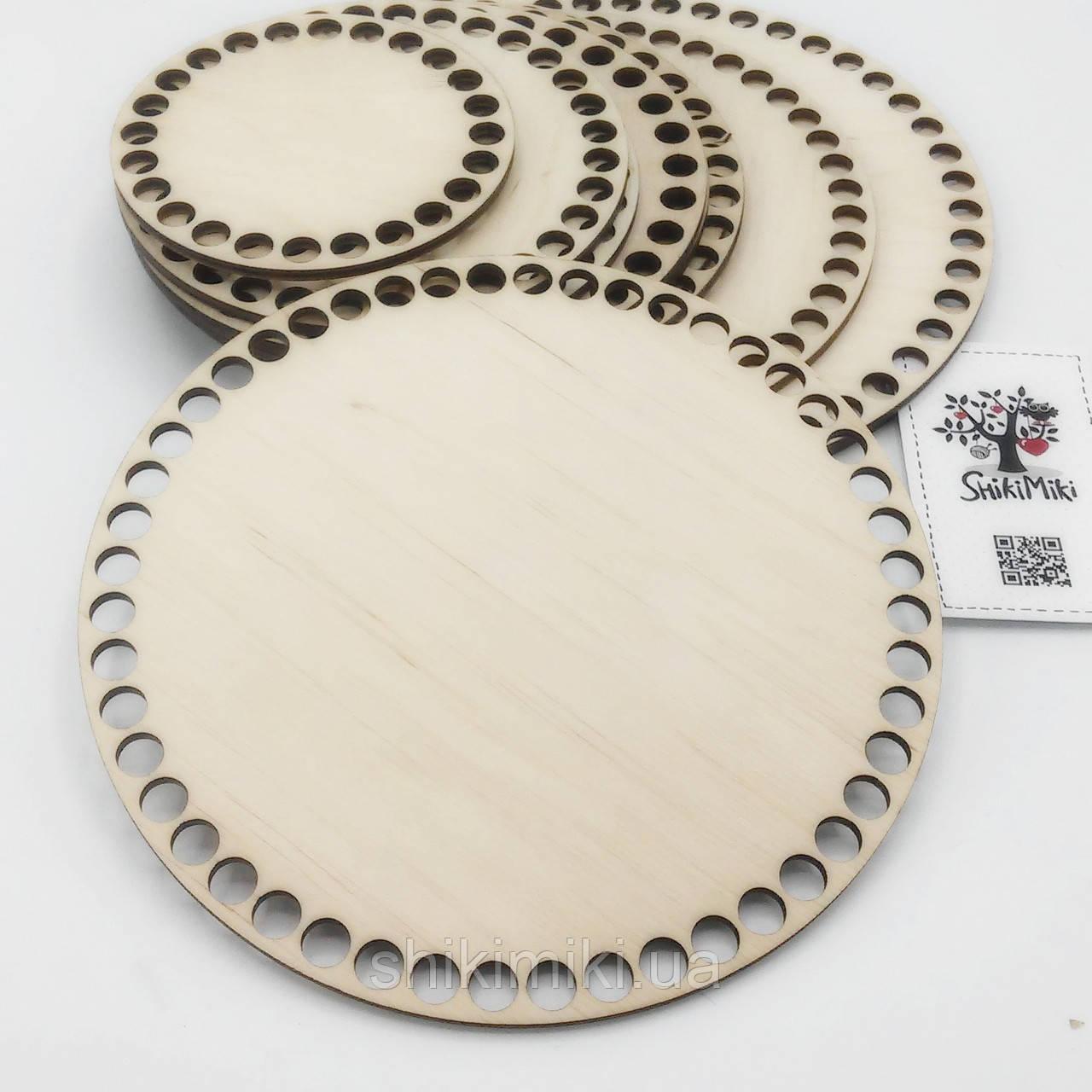 Заготовка из фанеры круглая (18 см)