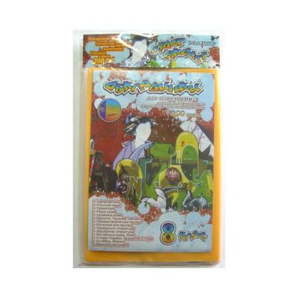 Обложки для учебников (8 класс) ПОЛИМЕР 104408, 200 мкм. (уп. 14шт.), фото 2