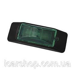 Габаритный фонарь 105 х 38мм / Пластиковая (Зеленый)