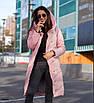 Куртка-пальто зимове, холлофайбер 42, 44, 46, фото 4