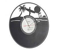 Часы настенные круглые Settler Disco beach