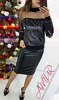 Кофточка женская нарядная СЕР2 535, фото 1