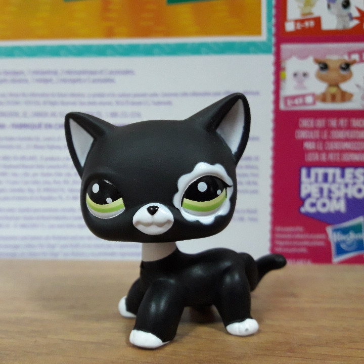 Lps littlest pet shop стоячки - лпс кошка Hasbro 2249 -старая коллекция