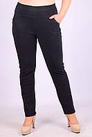 Тёплые женские штаны на коротком меху Ласточка A692-4-2. 3XL/52. Размер 50-54.