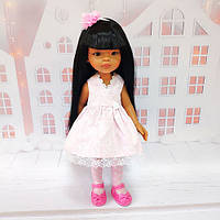 Кукла Paola Reina 14827 Мэйли Рапунцель 32 см в розовом платье