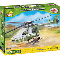 Конструктор COBI Атакующий вертолет Eagle Attack Helicopter Small Army 150 дет. и 2 фигурки