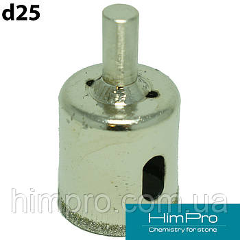 D25 Сверло для мрамора, стекла
