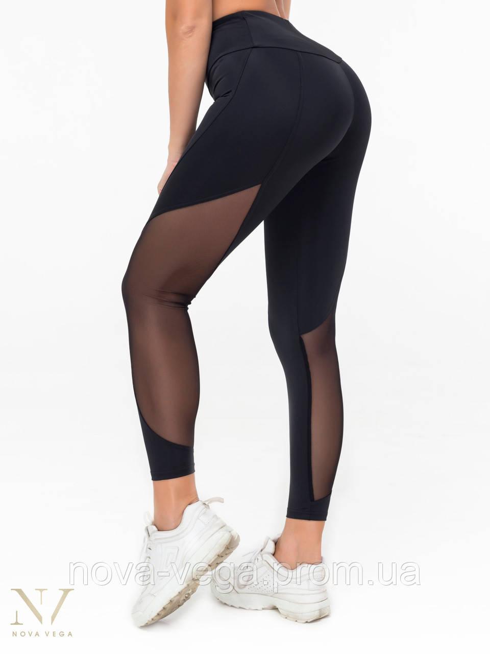 Спортивные Женские Лосины Для Фитнеса Nova Vega Aphrodite Black