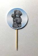 Топпер для украшения праздничного стола   Мишка Тедди