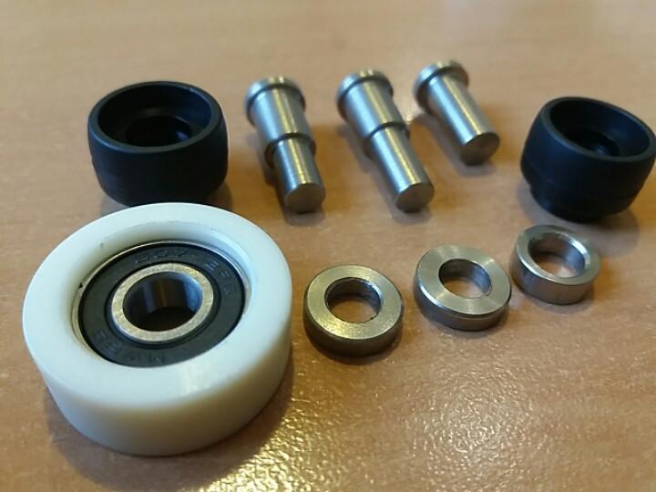 Ремкомплект кронштейна двери средний IVECO DAILY Е3; (6003-00-0087P/500329765)