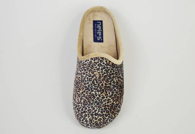 Тапочки жіночі леопардові Neles 38324, фото 2