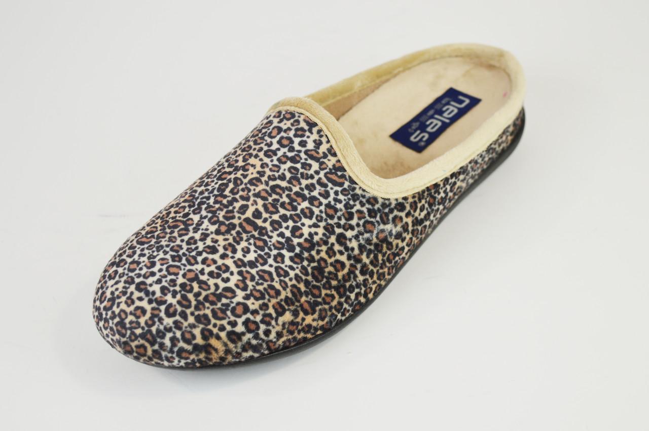 Тапочки жіночі леопардові Neles 38324