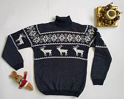 Детский вязанный свитер