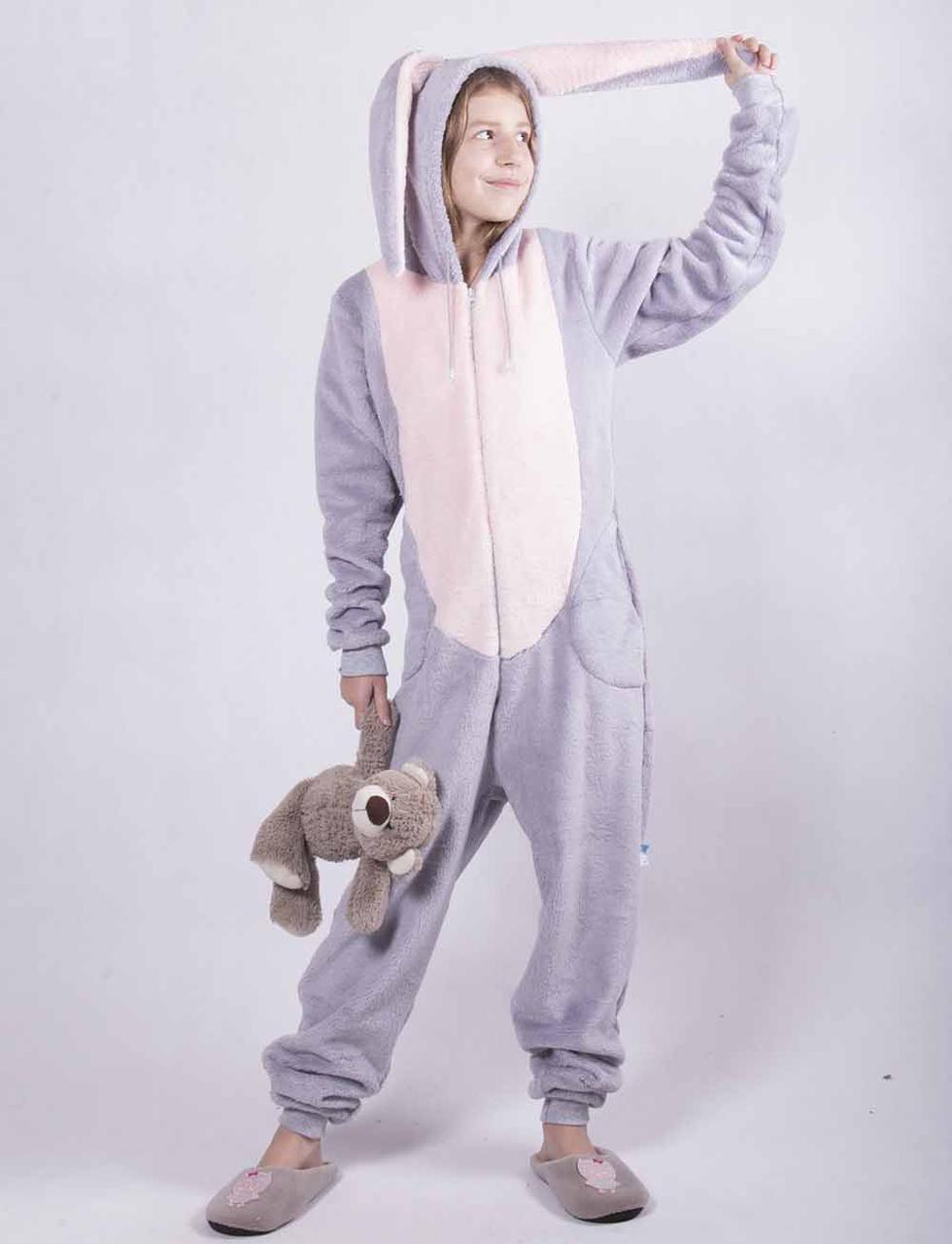 """Махровый кигуруми """"Bugs Bunny"""" 34-40"""