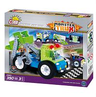 Конструктор COBI Мусоровоз Мусоромонстр Monster Junk Trux Monster Trux Светится в темноте 350 дет. и 3 фигурки
