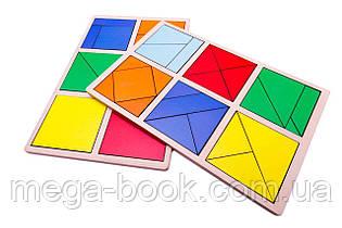 Методика Нікітіних. Склади квадрат 1-й рівень.